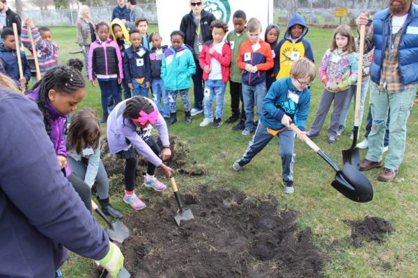 Arbor Day Tree Planting Training